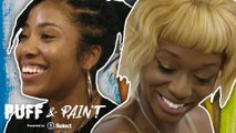 Junglepussy and Quiana Parks paint self-portraits high in 'Puff & Paint'