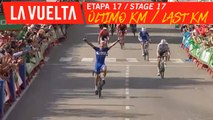 Ultimo kilómetro / Last kilometer - Étape 17 / Stage 17 | La Vuelta 19
