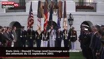 Etats-Unis : Donald Trump rend hommage aux victimes des attentats du 11 septembre 2001 (vidéo)
