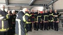 Landerneau. Mise en situation pour les jeunes pompiers professionnels