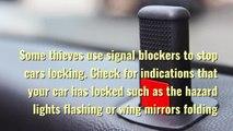 Car crime theft