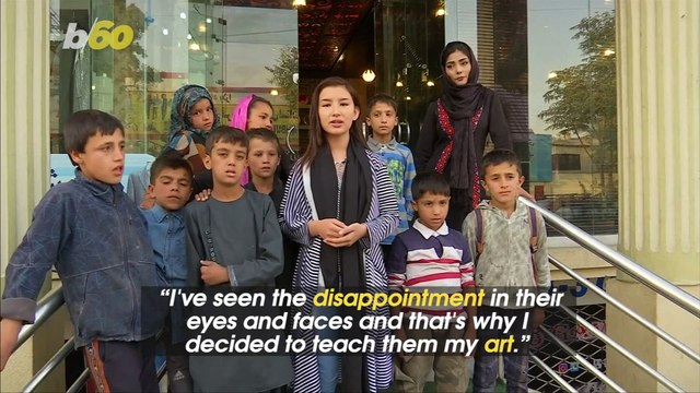 Afghan Teenage Singer Teaches Street Children About Music
