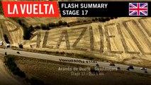 Flash Summary - Stage 17 | La Vuelta 19