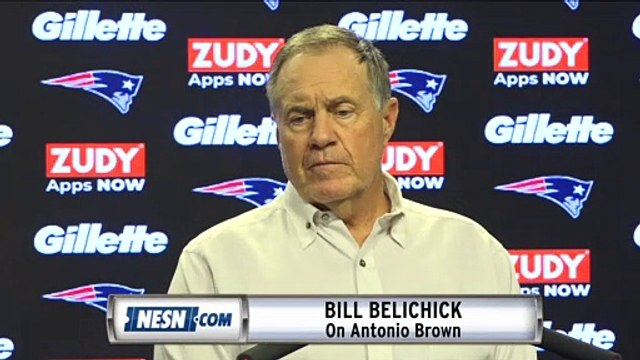 Bill Belichick On Antonio Brown Rape Allegations