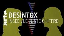 INSEE : une fraude sociale massive ? | 11/09/2019 | Désintox | ARTE