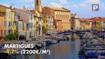 Top 10 des plus fortes baisses des prix immobiliers dans les Bouches-du-Rhône