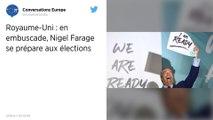 Nigel Farage prêt à soutenir Johnson s'il accepte le principe d'un «Brexit clair et net»