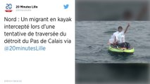 Un migrant en kayak secouru dans la Manche alors qu'il tentait de rallier la Grande-Bretagne