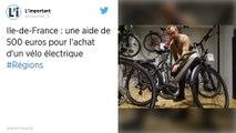 Vélo en Ile-de-France : Une aide de 500€ pour acheter un modèle électrique