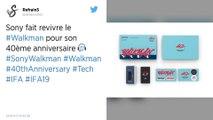Sony sort un nouveau Walkman collector pour les 40 ans de cet appareil culte