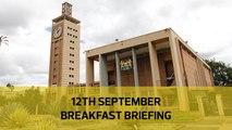 ODM fires secretariat| Medical equipment probe| Parents negotiate with defiler: Your Breakfast Briefing