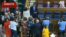 Primera sesión de control al gobierno en funciones de Sánchez