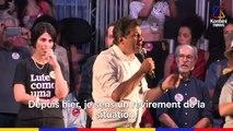 Hugo Clément et Clément Brelet ont rencontré des manifestants anti-Bolsonaro