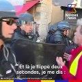 """Quand Geneviève Legay """"taille un tricot"""" à Emmanuel Macron"""