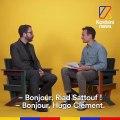 L'auteur de BD Riad Sattouf répond aux questions d'Hugo Clément