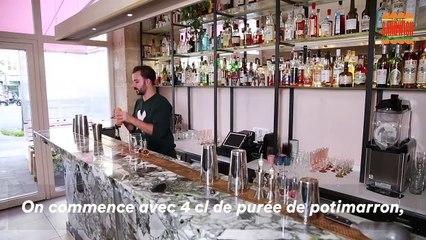On a demandé au bar Bisou. de nous préparer des cocktails de saison