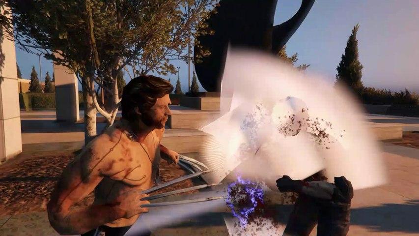 Wolverine VS Albert Wesker - Epic Battle (GTA 5)
