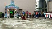Webdunia में शिव तांडव से हुई गणपति उत्सव समापन की शुरुआत