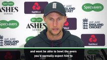 CRICKET: Stokes won't bowl, Roy is out - Root