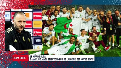Djamel Belmadi invité par Team Duga sur RMC
