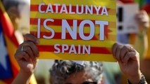Watch: Internal divisions highlighted on Catalonia's National Day