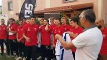 Grand Nancy Métropole Handball : la remise des maillots