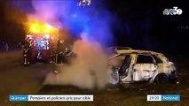 Finistère : des pompiers et des policiers pris pour cible par des jeunes à Quimper