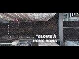 À Hong Kong, les manifestants ont composé leur propre hymne