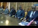 RTG - Présentation du bilan du CNPDCP au Premier ministre à la primature