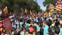 El independentismo catalán se desinfla en su movilización anual en Barcelona