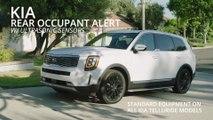 Kia rear occupant alert demonstration