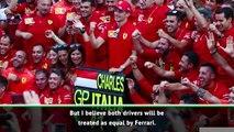 Vettel is still Ferrari main man - Rosberg