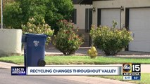 Recycling changes throughout the Valley