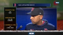 Manager Alex Cora Lays Out Expectations Of Team For Remainder Of Season