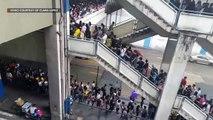Commuters endure long lines at MRT North Avenue