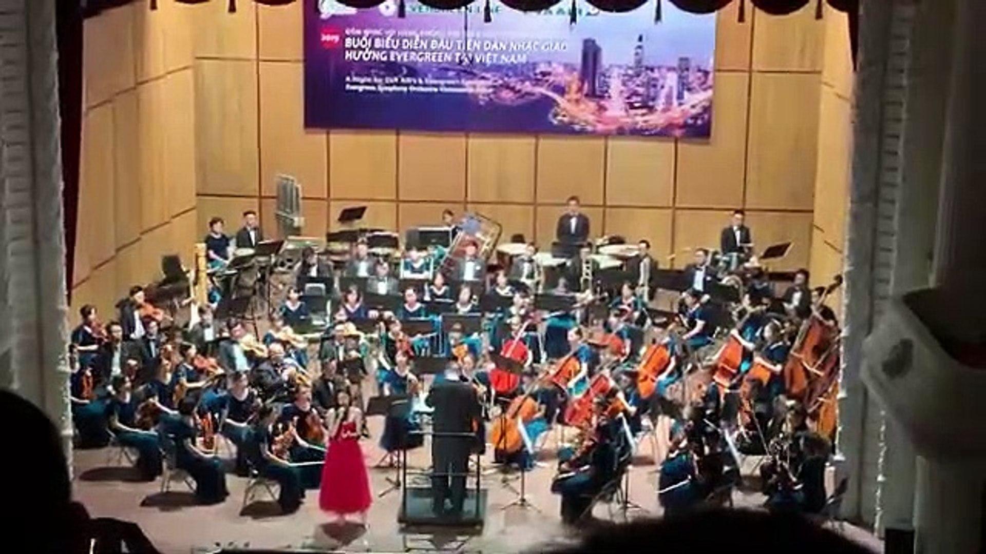 Mashup Vì ai vì anh - Xin Anh Đừng - Đông Nhi hát cùng dàn nhạc giao hưởng EverGreen 11-09-2019