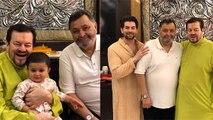 Rishi Kapoor visits Neil Nitin Mukesh house for Ganpati Puja after returning India | FilmiBeat