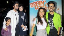 Dream Girl Screening: Ayushmann Khurrana attends with Tahira Kashyap & son; Watch video | FilmiBeat
