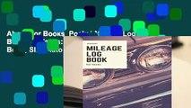 About For Books  Pocket Mileage Log Book For Taxes: Mini Gas Mileage Record Book; Slim Auto
