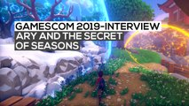 Ary and the Secret of Seasons - Das Interview | gamescom 2019