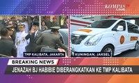 [TERBARU] Presiden Joko Widodo Tiba Di TMP Kalibata