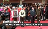 BJ Habibie Dimakamkan Secara Militer di TMP Kalibata