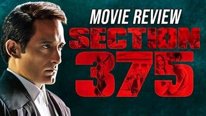 Movie Review Of Section 375 Starring Akshaye Khanna & Richa Chadha