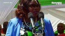 Mama Ida Odinga says, 'Mariga should have sticked to football, just like Oliech'