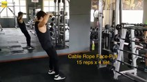 ◤FIT男FIT女◢之健身房CABLE ROPE 锻炼法