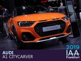 Audi A1 City Carver en direct du salon de Francfort 2019