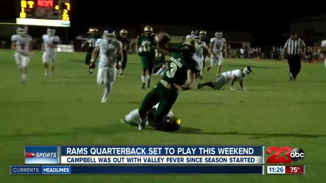 Joseph Campbell back to quarterback the Rams ahead of the Holy Bowl