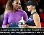 US Open - Andreescu très reconnaissante envers Williams