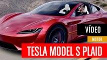 Tesla Model S en Laguna Seca