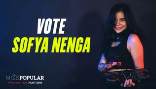 Vote SOFYA Nenga | Miss POPULAR 2019 - Pioneer DJ Hunt